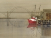 Red Boat in Newport Oregon