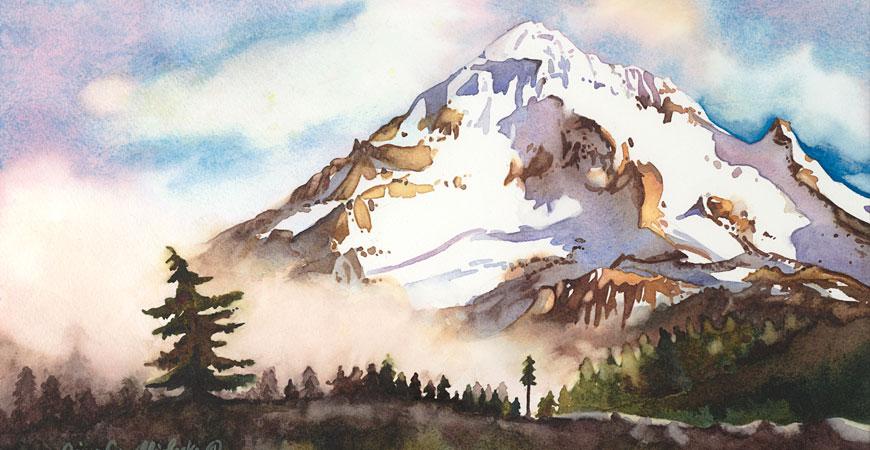 Gina Locke Comelli Watercolor Artist Summer Art Camps