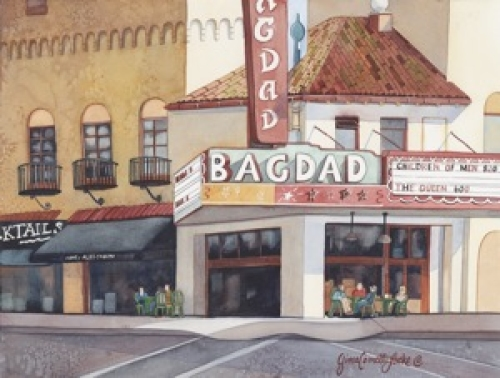 Bagdad Theater Portland Oregon